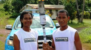 Fiji Gas Lights Up the Coca Cola Games Torch Relay Yet Again