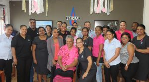 Fiji Gas Advocates Cancer Awarness with Launch of Cylinder Campaign